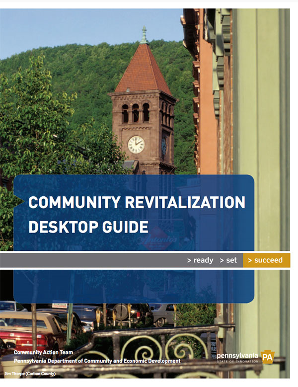 PA Community Revitalization Desktop Guide Cover